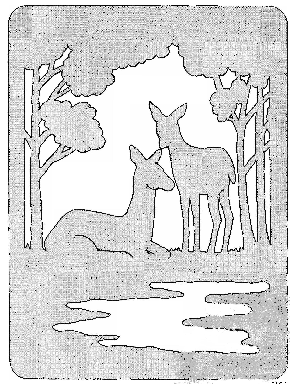 Резьба по дереву своими руками лобзиком чертежи