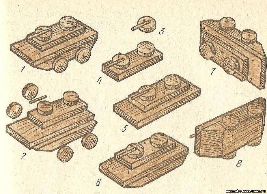 Схемы поделок из дерева 22