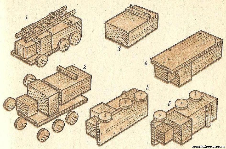 Сделать машинку из дерева своими руками 252