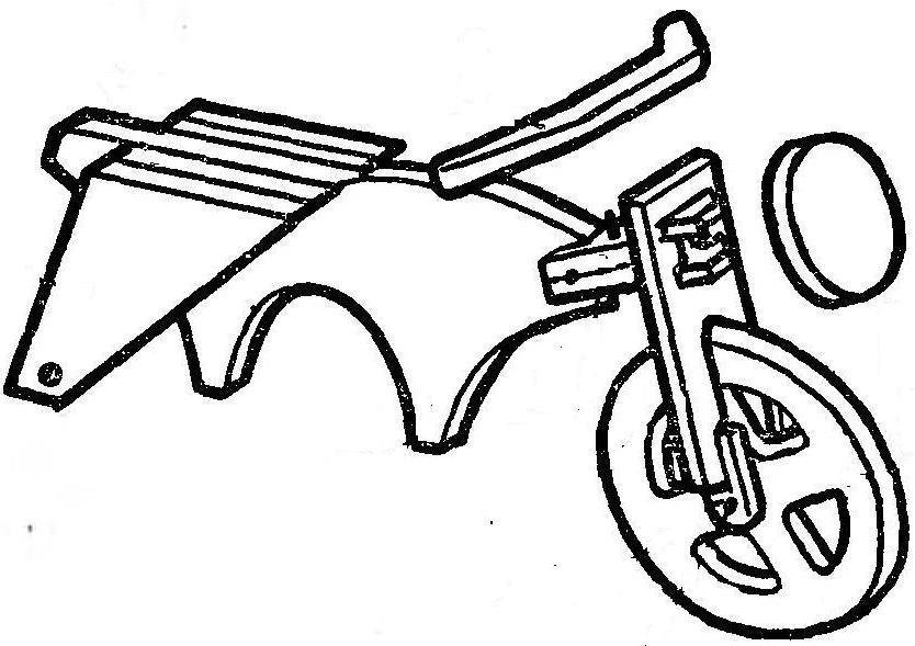 Мотоциклы из фанеры своими руками чертежи