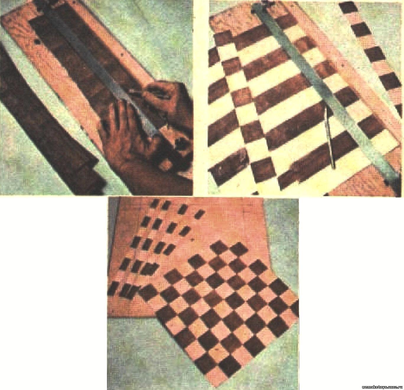 Фото шахматной доски своими руками 31