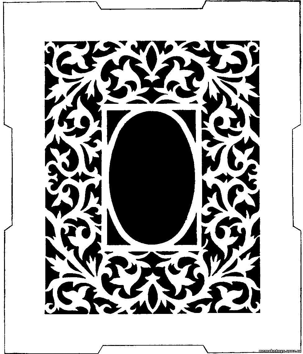 Рамка дляграфии из фанеры своими руками чертежи