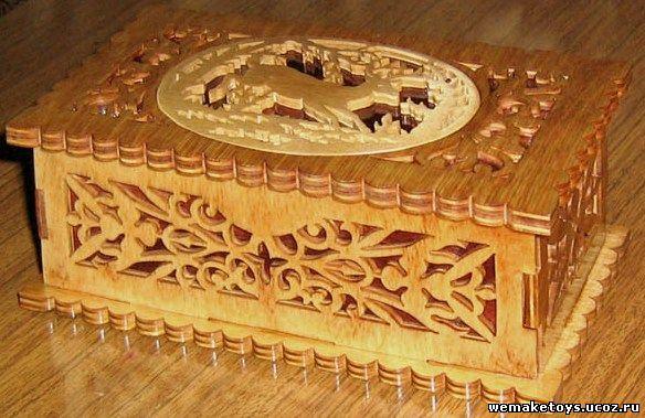 Последовательность изготовления деревянной шкатулки 1.Распечатайте шаблоны(для этого правой кнопкой мыши нажмите на...