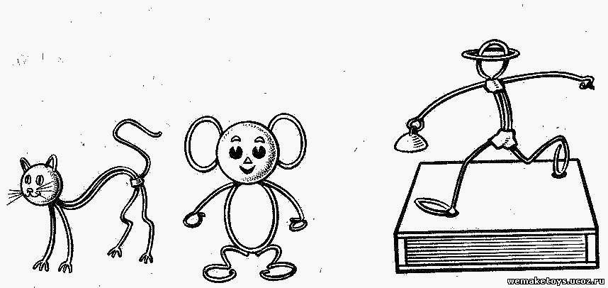 Схемы игрушек из проволоки