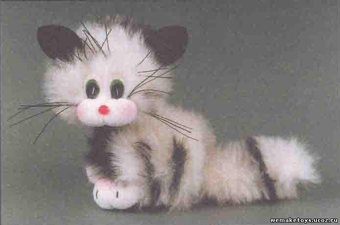 Кот из своими руками фото