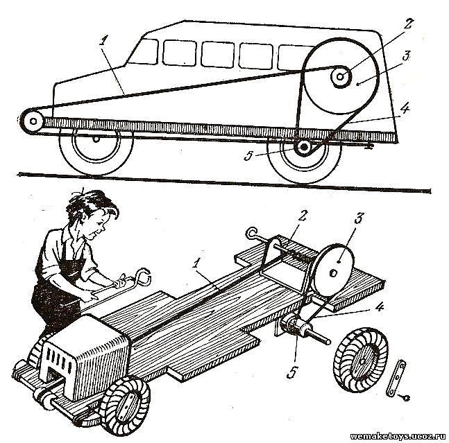 Чертежи машины из дерева своими руками чертежи