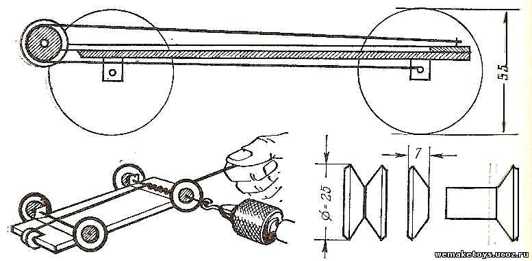 Как сделать машинку по чертежам 639