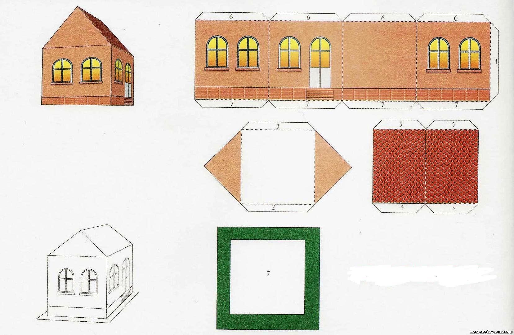 Как сделать дома поделку из бумаги