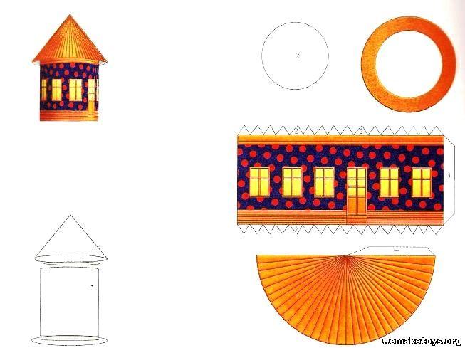 Поделки архитектура схемы