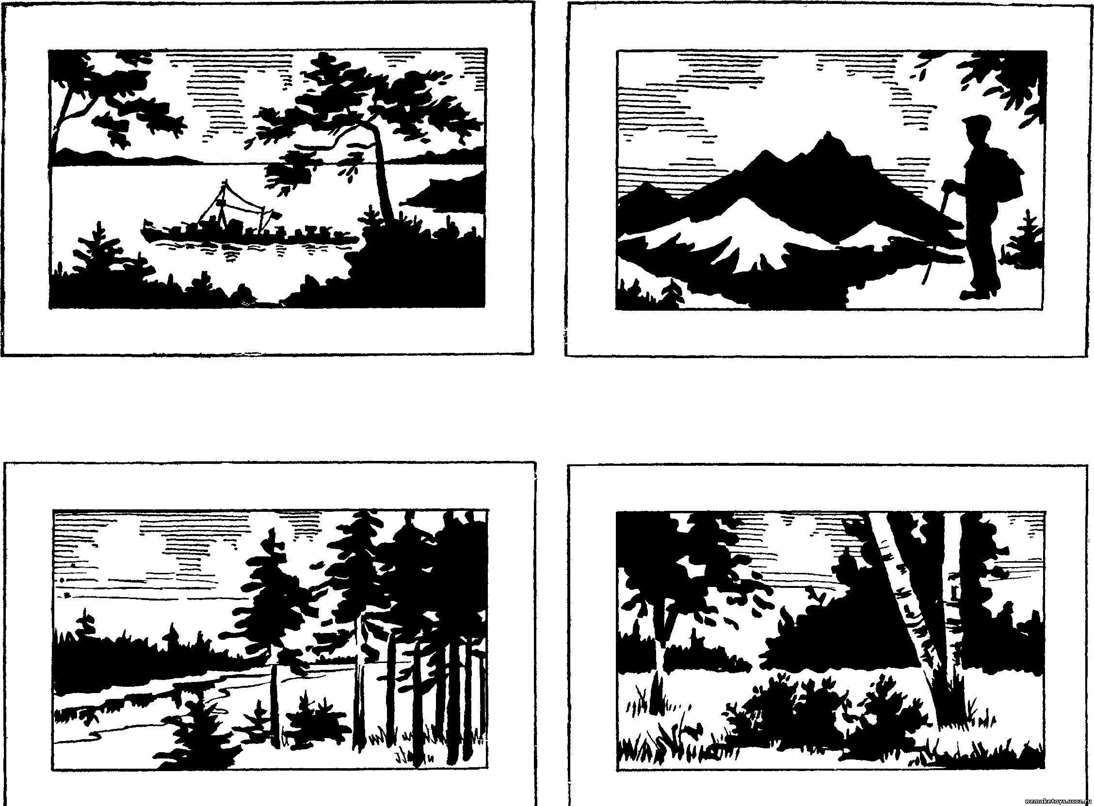 Картинки схемы для выжигания
