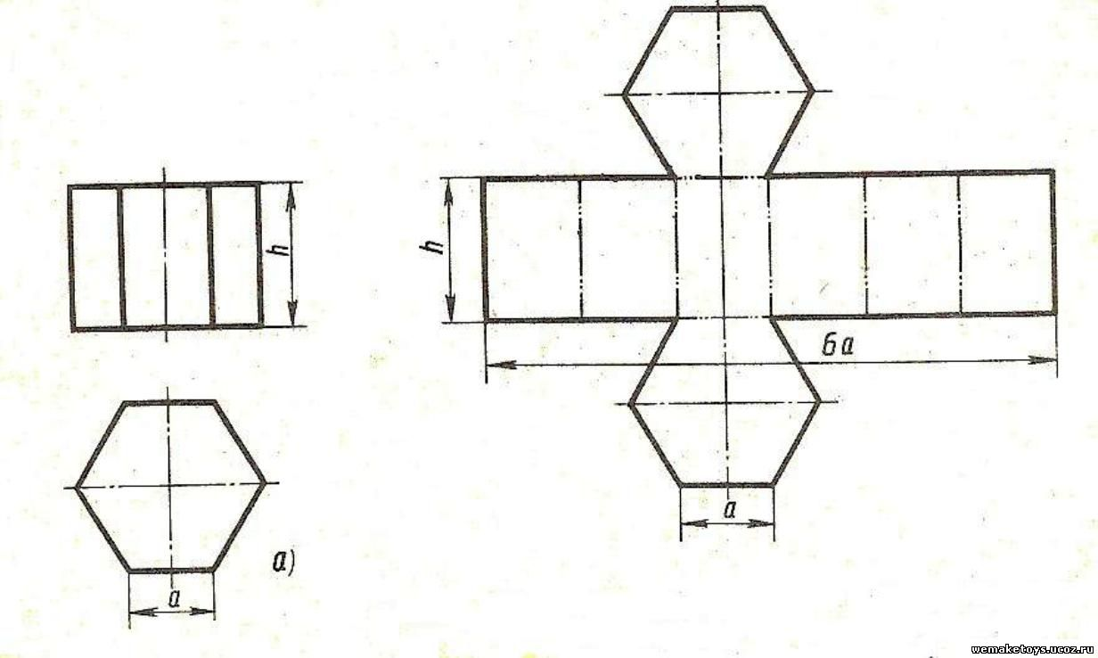 Развёртки геометрических фигур своими руками