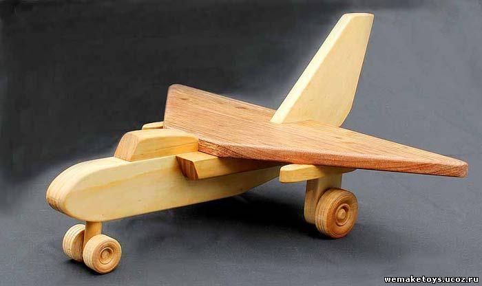 Как сделать самолет своими руками из дерева