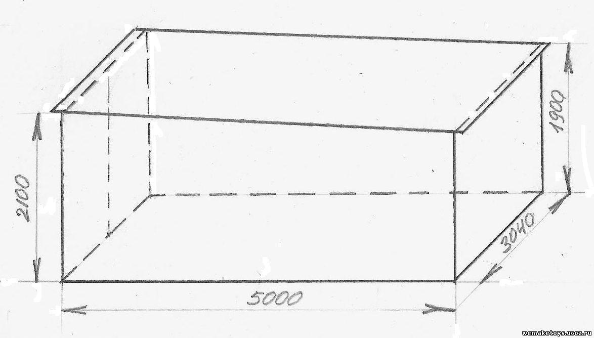 Металлический гараж своими руками чертежи