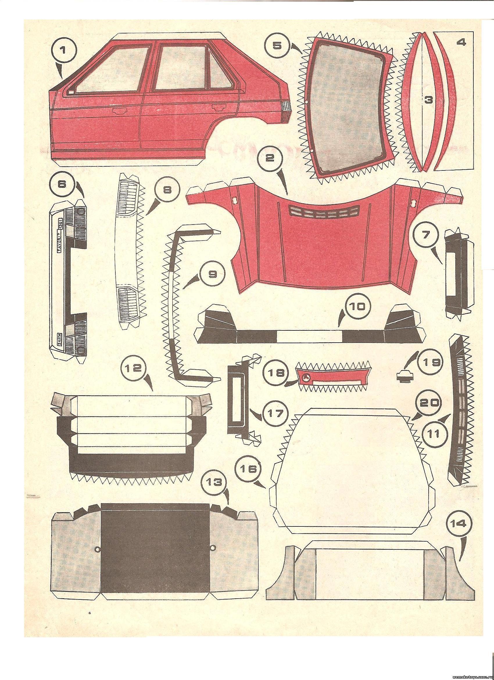 Как сделать машинку из картона - wikiHow 74