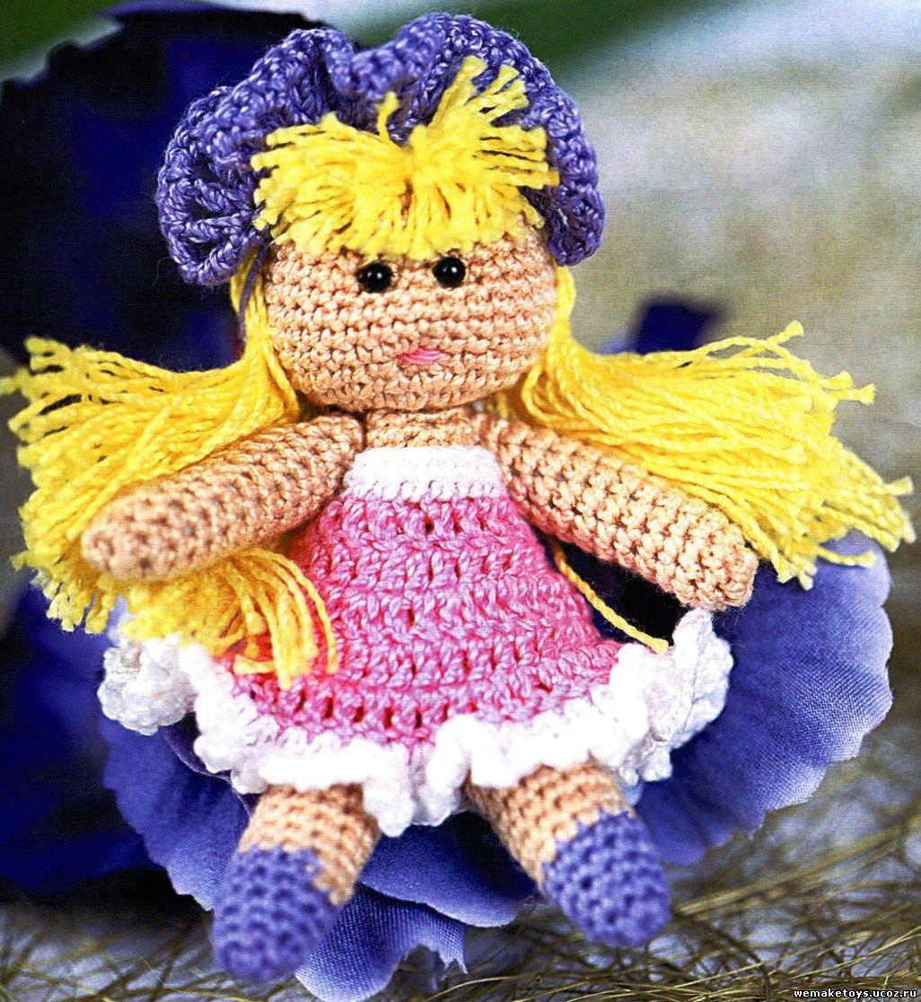 Сегодня мне хочется поделиться с вами... вязаные кукла крючком.